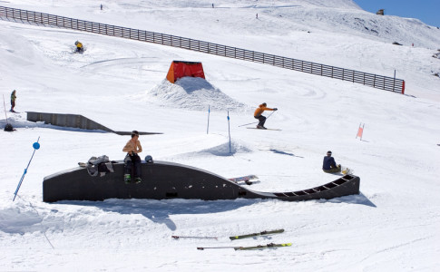 snowpark Alpes