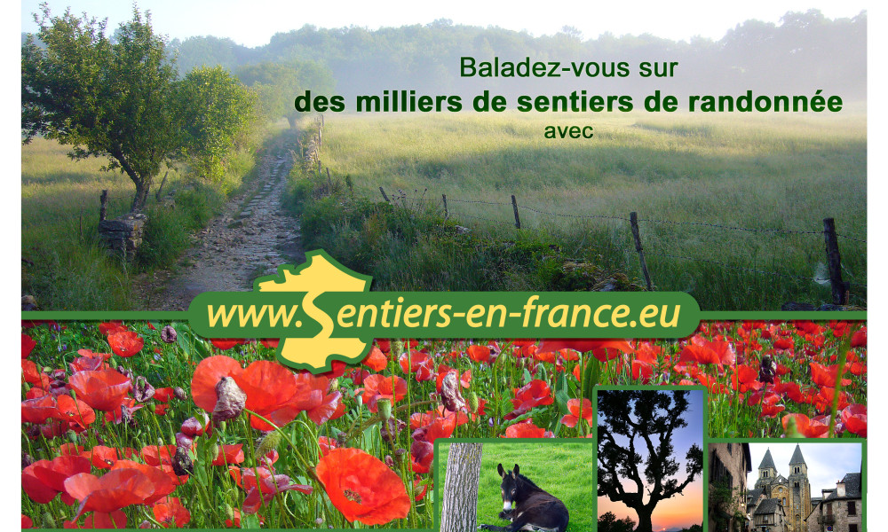 sentier en France