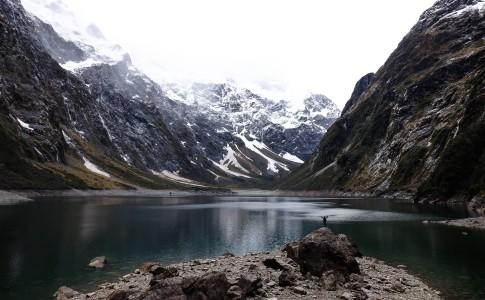 aventure lac de montagne